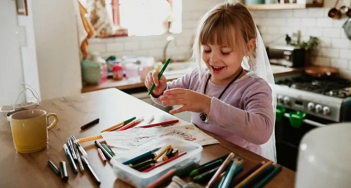 Art kits are perfect for kids to explore creativity. A wonderful, but classic open ended toy.