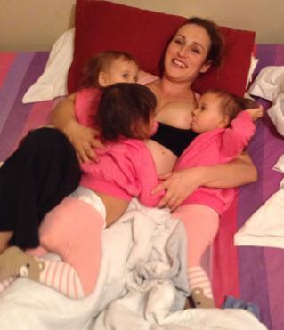 Attachment Parenting Triplets
