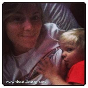 breastfeeding at night