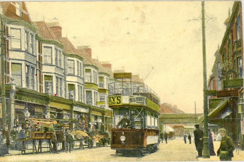 View of St James St in 1905