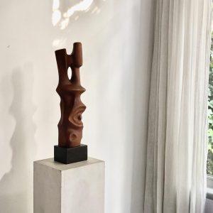 the Millen House _ art & design gallery _ wood sculpture