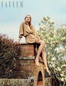 Greta Bellamacina fotografata da David Burton per Tatler Magazine