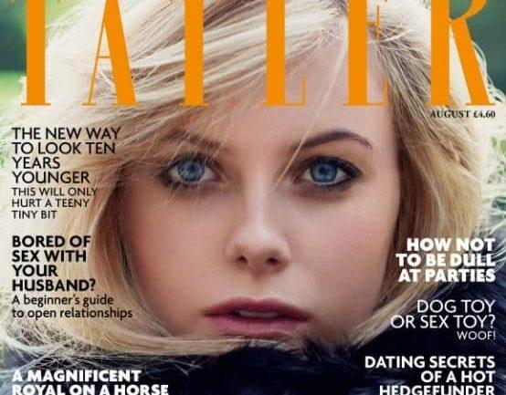 La copertina di Tatler dedicata alle it girls