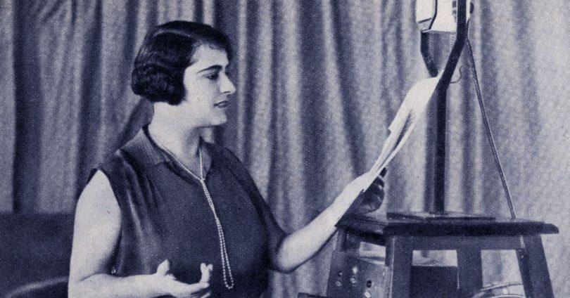 Maria Luisa Boncompagni, una delle prime voci radiofoniche italiane