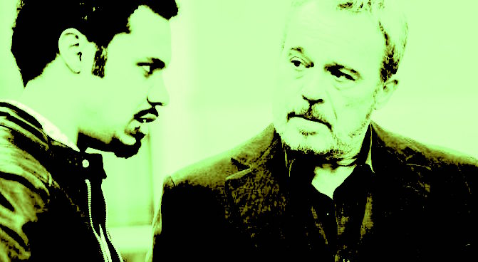 Claudio Amendola e Miguel Gobbo Diaz, protagonisti di Nero a metà