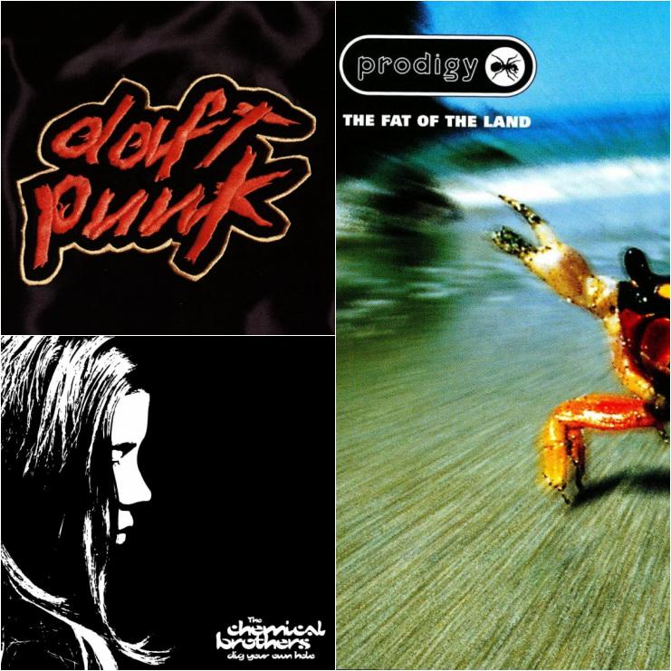 Daft Punk, Prodigy, The Chemical Brothers e quell'anno perfetto per la musica elettronica