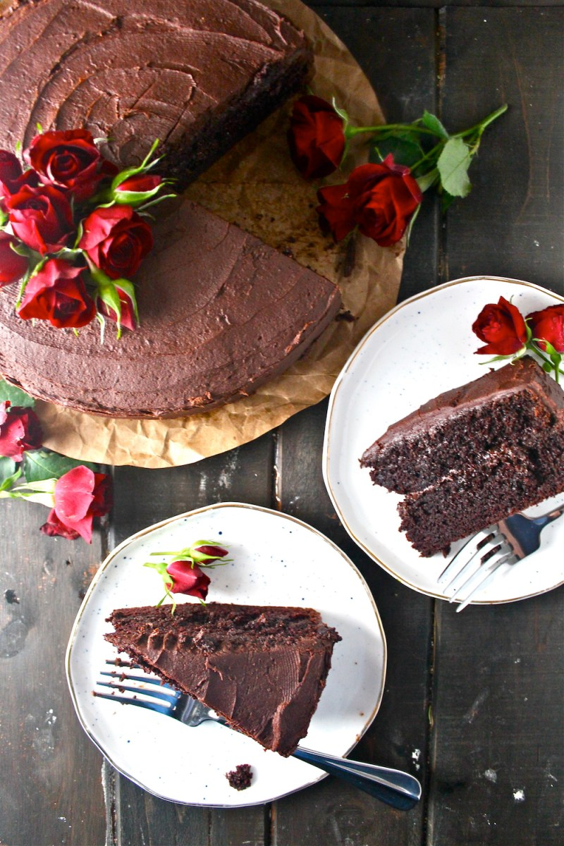 The Best Chocolate Cake The Millennial Cook