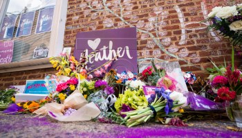 Our sister, Heather Heyer, who became a martyr to the cause. We shall overcome.
