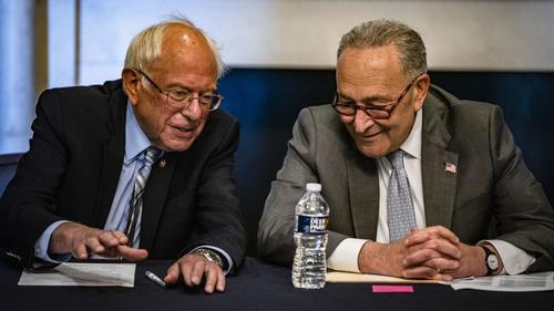 "Senate Dems Release Text Of $3.5 Trillion ""Stimulus"" Budget Resolution"