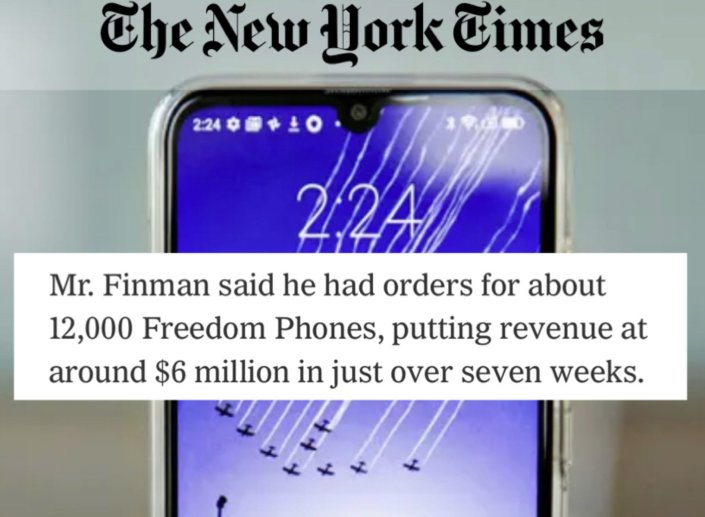 """Get Google And Apple Off Your Phone With The New """"Freedom Phone"""" (First Batch Now Shipping)Promoted Post"""