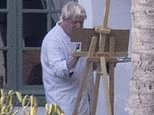 What's Boris painting? PM sparks hilarious social media reaction