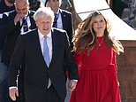 Row over allegations Boris and Carrie Johnson 'broke Covid lockdown rules' last Christmas
