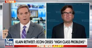 """Bill Hemmer to Obama economist: What the hell were you thinking calling inflation a """"high class problem""""?"""