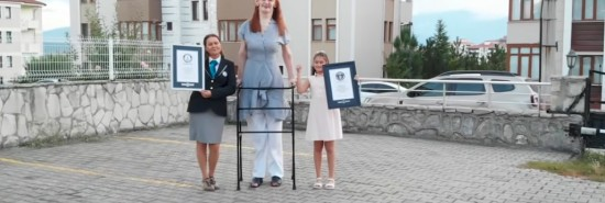 Turkish woman named tallest woman on Earth at over seven feet