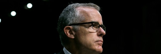 Former FBI official Andrew McCabe wins full pension in wrongful termination lawsuit settlement