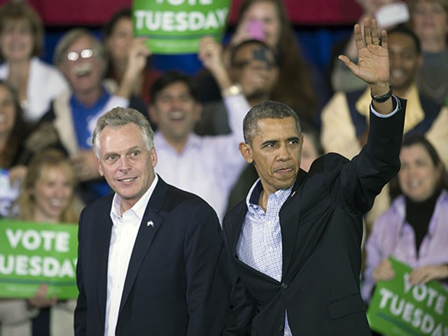 Obama to Campaign for Terry McAuliffe in Virginia Gubernatorial Race