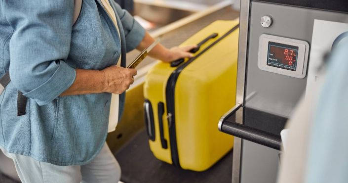 Couple at Airport Makes Shocking Discovery After Their Bags Are Declared Overweight