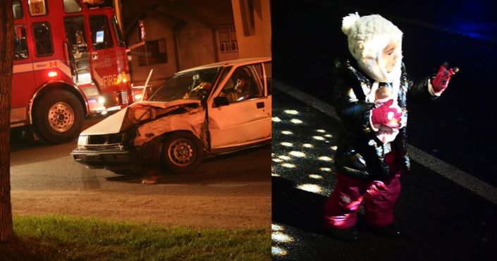 After Little Girl Gets Into Terrible Car Crash, Firefighter Makes Amazing Commitment to Her