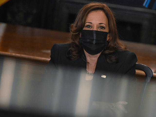 Kamala Harris, Without Evidence, Blames Low Wages for Supply Chain Crisis