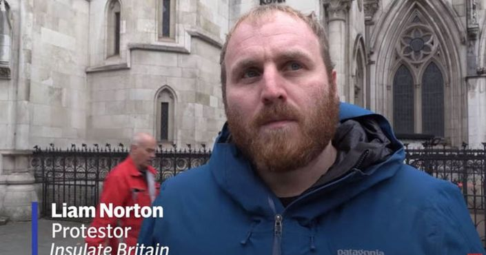 Leader of Insulate Britain protest group: 'I don't particularly care about insulation'