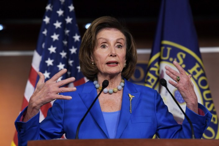 Pelosi gripes media not helping 'sell' $3.5T bill
