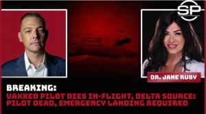 BREAKING — Emergency Landing As Vaccinated Pilot Dies In Flight