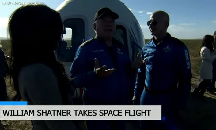 """""""Everybody in the World Needs to See This"""" – Star Trek's William Shatner Cries as He Describes Going Into Space (VIDEO)Joe Hoft"""