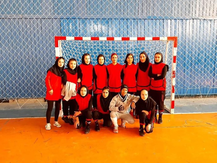 Afghan women's handball team was left behind — and now they fear for their lives