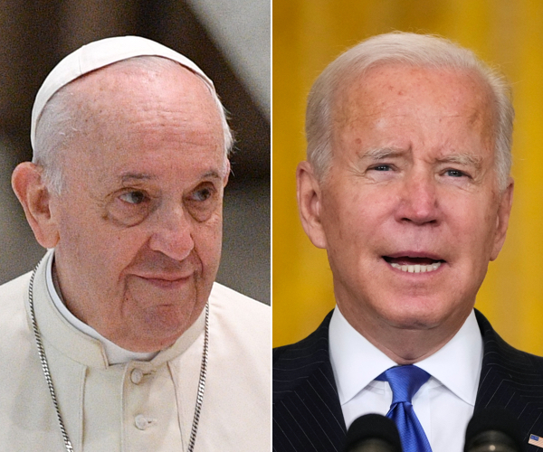 Biden, Wife to Meet With Pope Before G-20 Summit in Rome