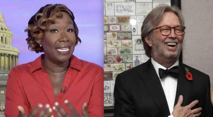 While mocking 'white anti-vaxxers,' Joy Reid blasts iconic guitarist Eric Clapton as a 'jerk' for his 'racist past' and pushing 'vaccine disinformation'