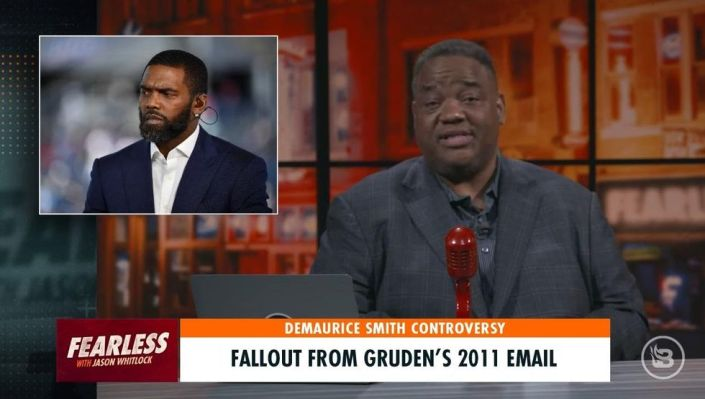 'I'm just NOT that fragile': Jason Whitlock blasts ESPN analyst's tearful response to Jon Gruden email comments