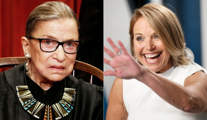 RBG Criticized National-Anthem Protests, and Katie Couric Covered It Up
