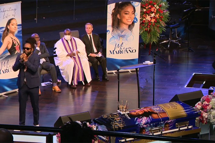 Slain student Miya Marcano remembered at funeral for 'magnetic energy'
