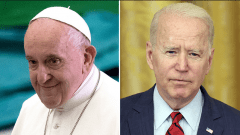 Petition Calls on Pope Francis to Formally Discipline Joe Biden at Oct. 29 Meeting in Rome