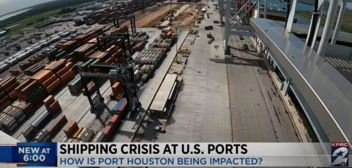 """""""There Will Be Things People Can't Get"""" – Biden White House Warns Christmas Plans May Be Spoiled by Shipping CrisisJim Hoft"""