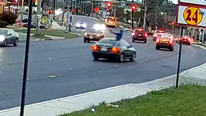 Maryland police searching for gunman who critically injured 12-year-old girl while shooting out of sunroof