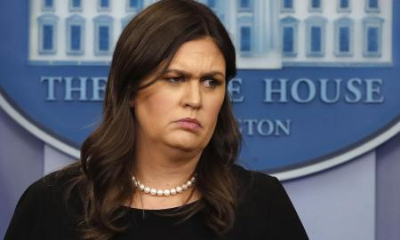 Sarah Huckabee Sanders is refused service for not having a soul.