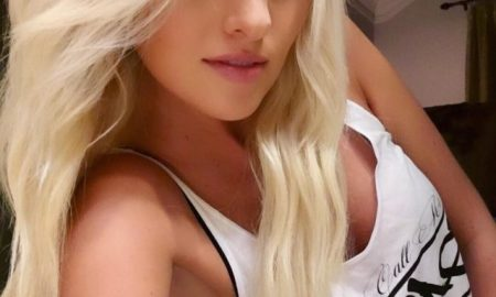 Tomi Lahren shows cleavage like the conservative baddie she is.