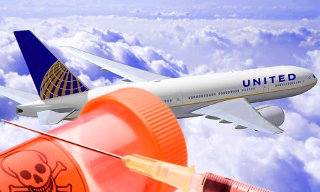 United Airlines lets you fly the deadly skies.