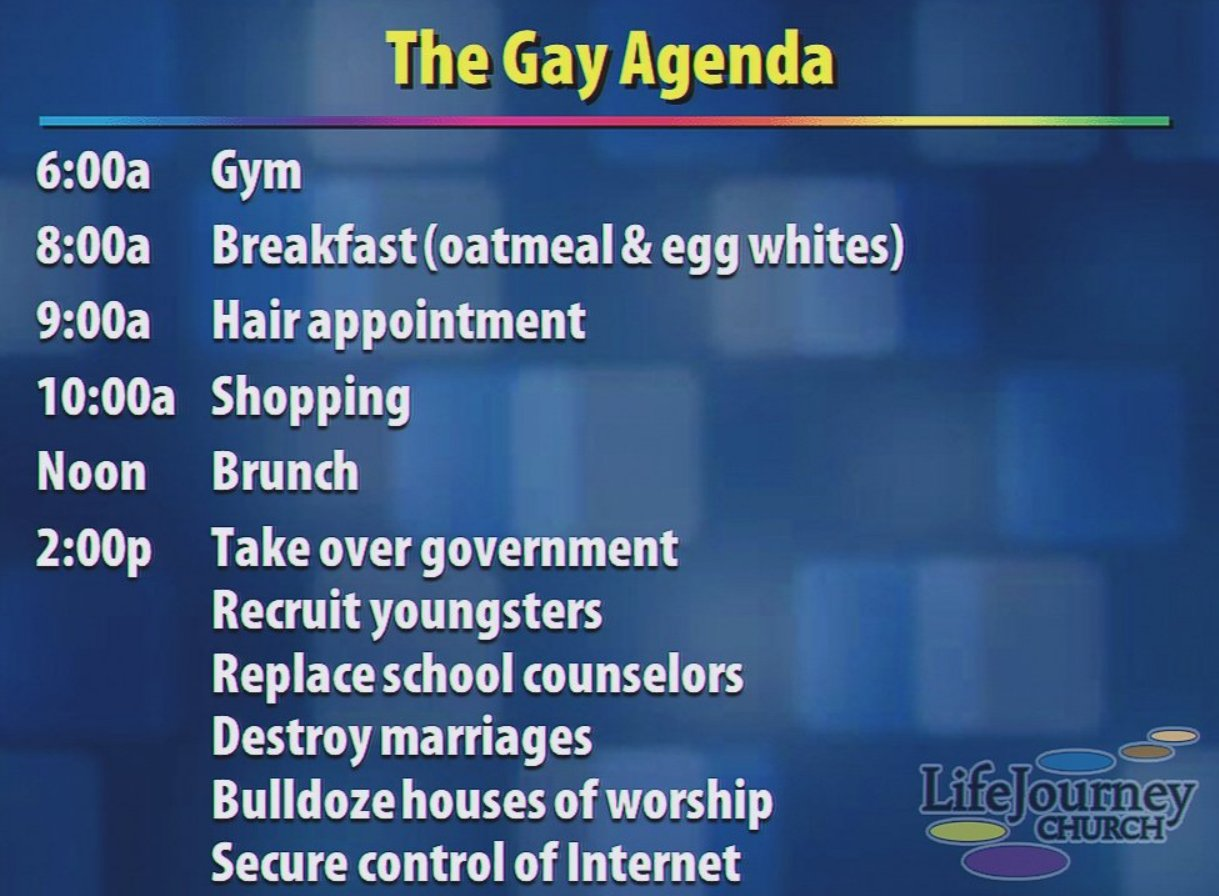 Image result for gay agenda meme