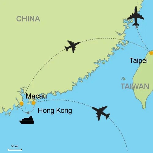Hong Kong and China and Taiwan relations