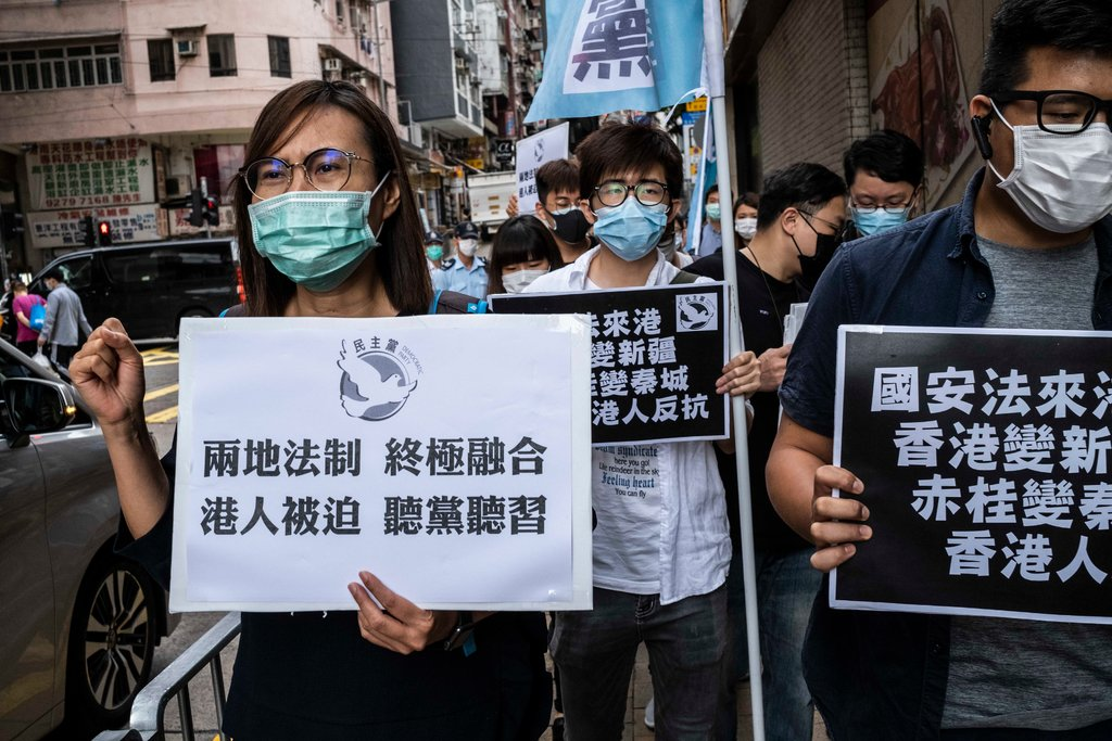 Hong Kong protest security Law