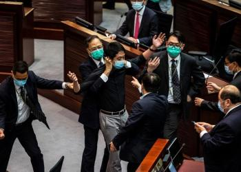 Hong Kong lawmakers pass national anthem law