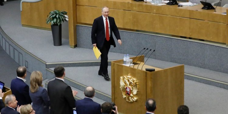 Russia votes to update its constitution, allowing Putin to remain in office until 2036
