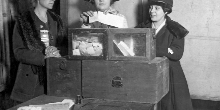 August 2020 marks the 100th anniversary of women's right to vote in the United States
