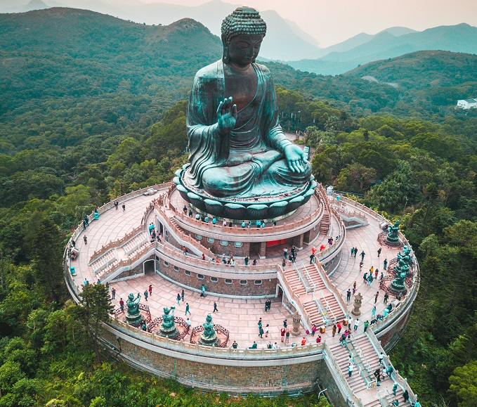 The Big Buddha Hong Kong