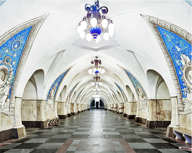 Radiant Portraits of Opulent and Historic Russian Metro System