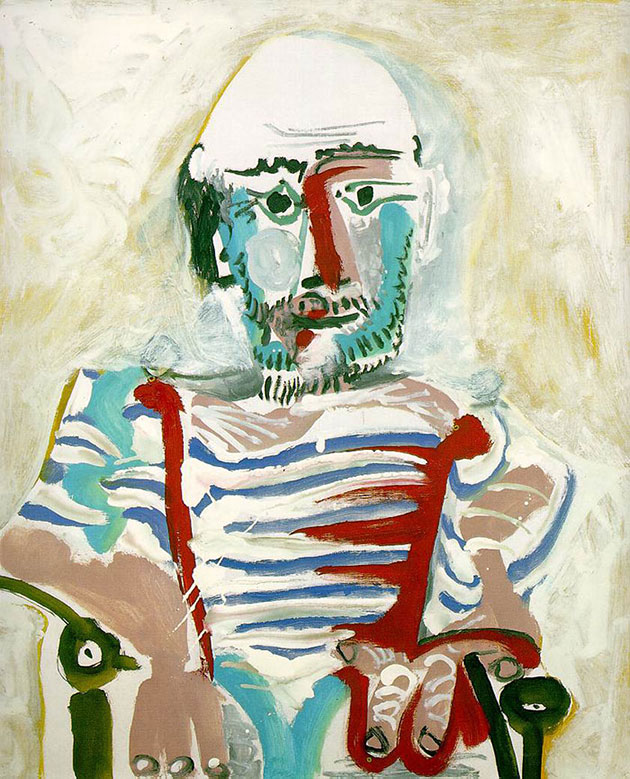 Picasso's Self Portrait Evolution From Age 15 To Age 90