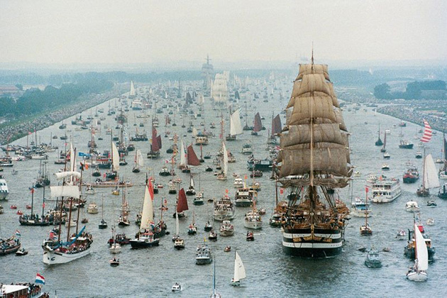 SAIL Amsterdam: The Greatest Nautical Spectacle in the World