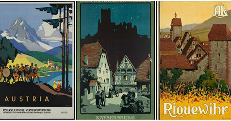 41 Beautiful Vintage Travel Posters Around the World From Between the 1920s and 1940s